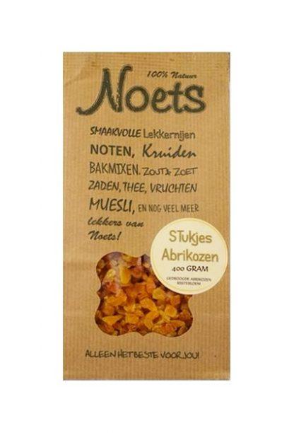 Noets zakje stukjes abrikozen 400 gram