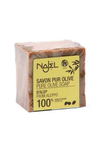 Pure olijfzeep uit Aleppo van Noets.