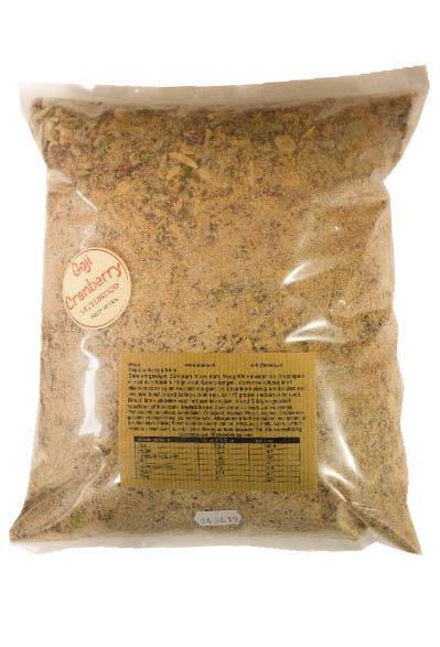 Goji Cranberry vezelbrood grootverpakking van Noets.