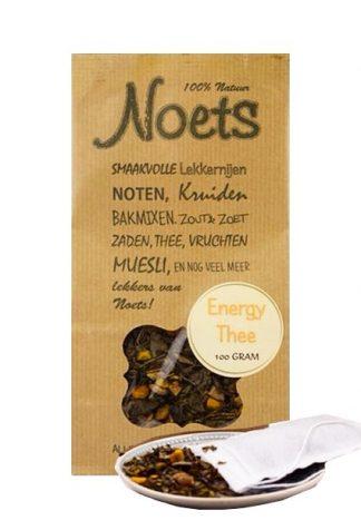 Energy thee van Noets. Geeft een directe energieboost.