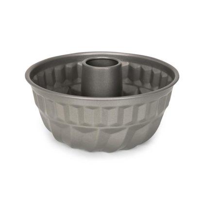 Tulbandvorm van 22 cm zilverkleurig van Noets.