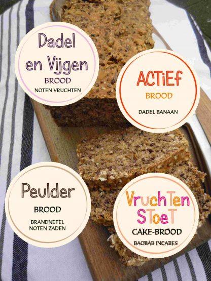 Het heerlijke zacht brood pakket van Noets met diverse soorten.