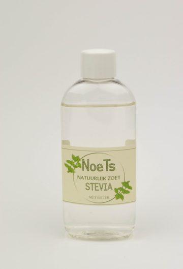 Stevia van Noets, natuurlijk zoet en niet bitter.