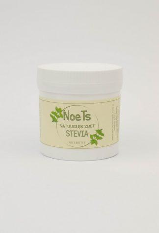 Steviapoeder van Noets, natuurlijk zoet en niet bitter.